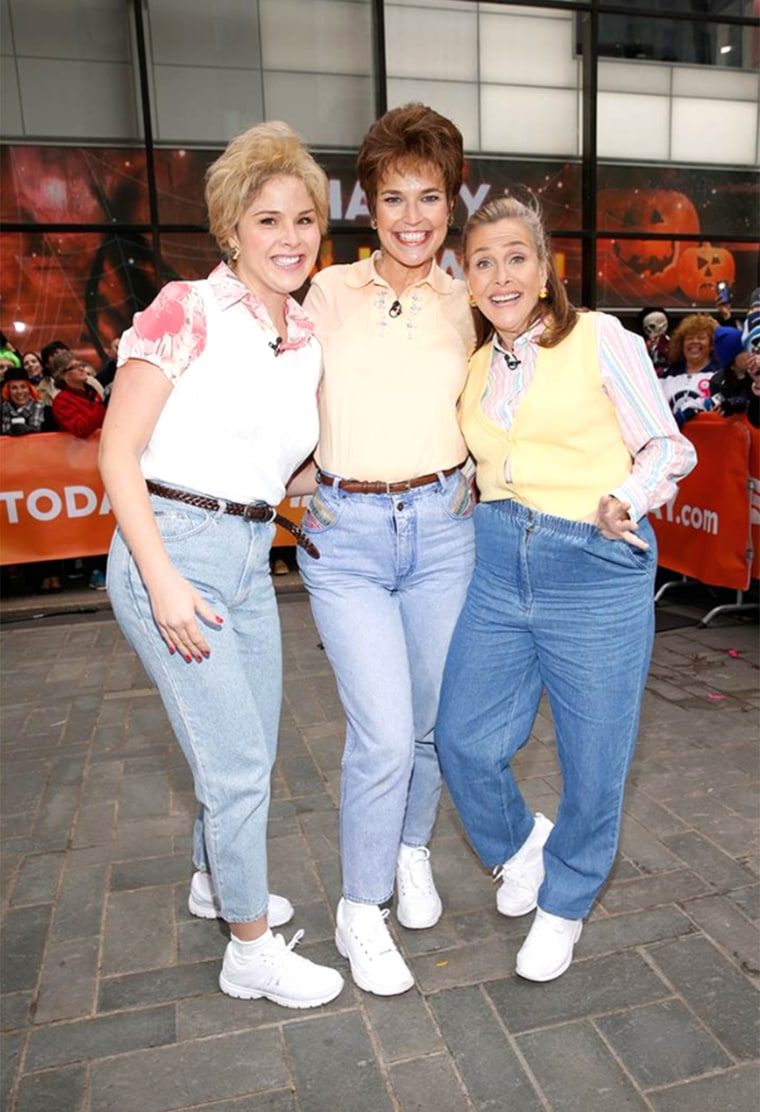 TODAY Show Mom Jeans Halloween