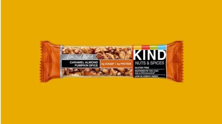 Caramel Almond Pumpkin Spice KIND Bars