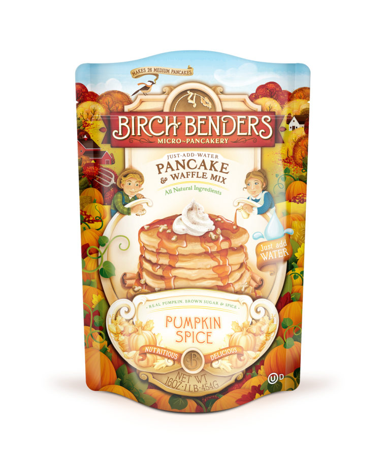 Birch Benders Pumpkin Spice Pancake and Waffle Mix
