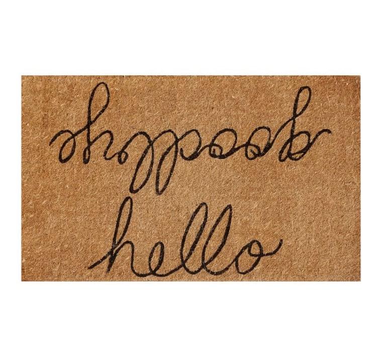 Hello/Goodbye Doormat