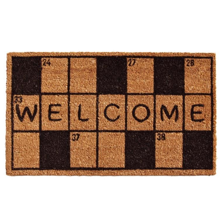 Crossword Doormat