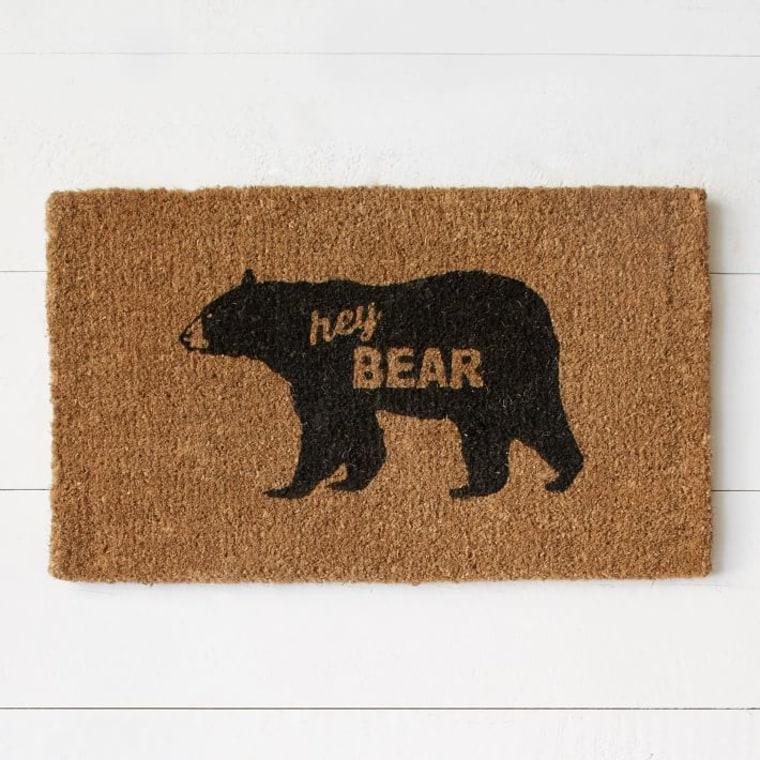 Hey Bear Doormat