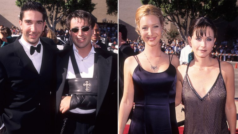 David Schwimmer, Matt LeBlanc, Lisa Kudrow and Courteney Cox