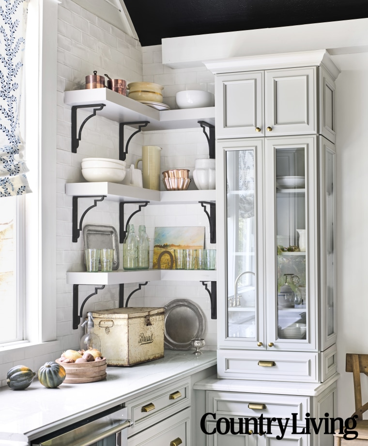 Holly Williams kitchen after makeover
