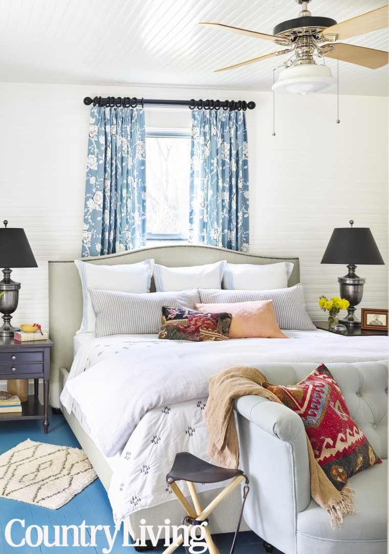 Holly Williams bedroom makeover
