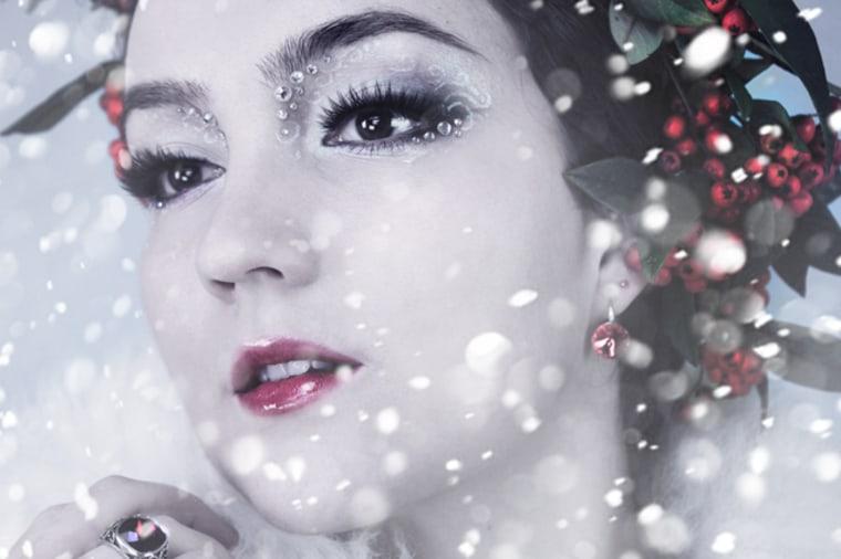 Winter fairy makeup