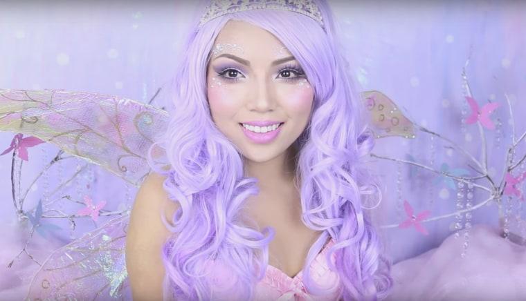 Sugarplum fairy makeup