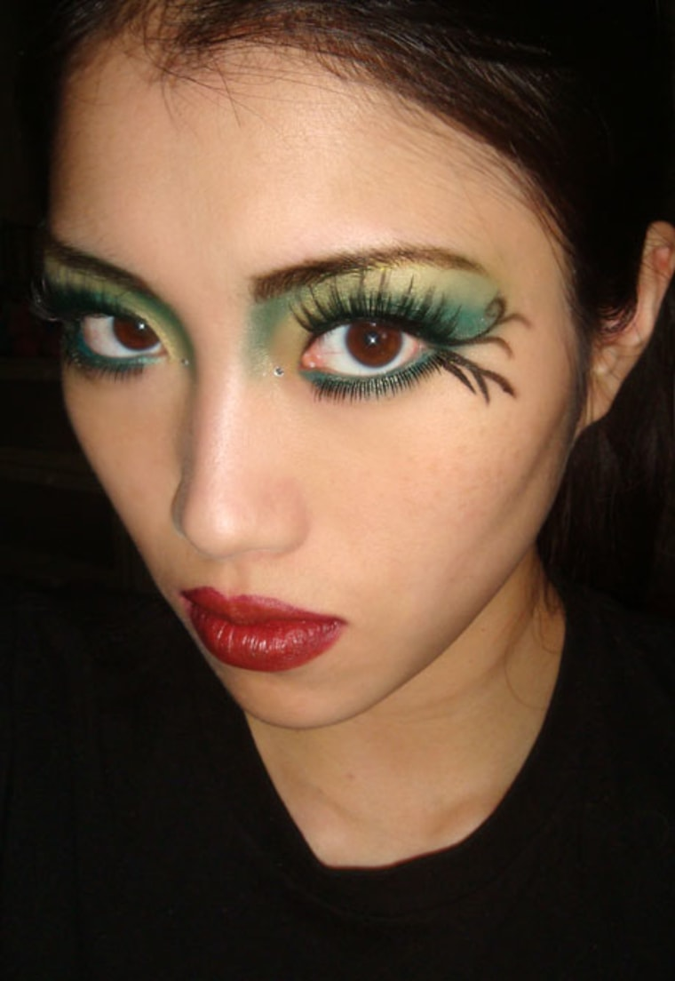 Easy fairy makeup