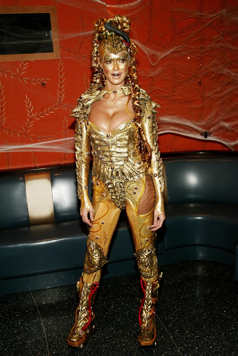 Heidi Klum Halloween Party 2003