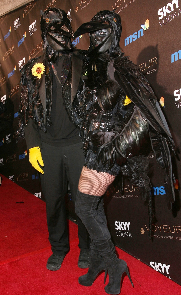 Heidi Klum Halloween Party 2009