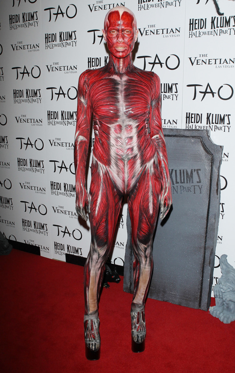 Heidi Klum Halloween Party 2011