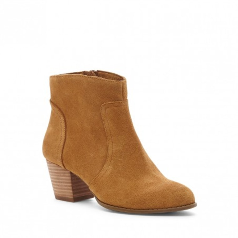 Sole Society western ankle boots