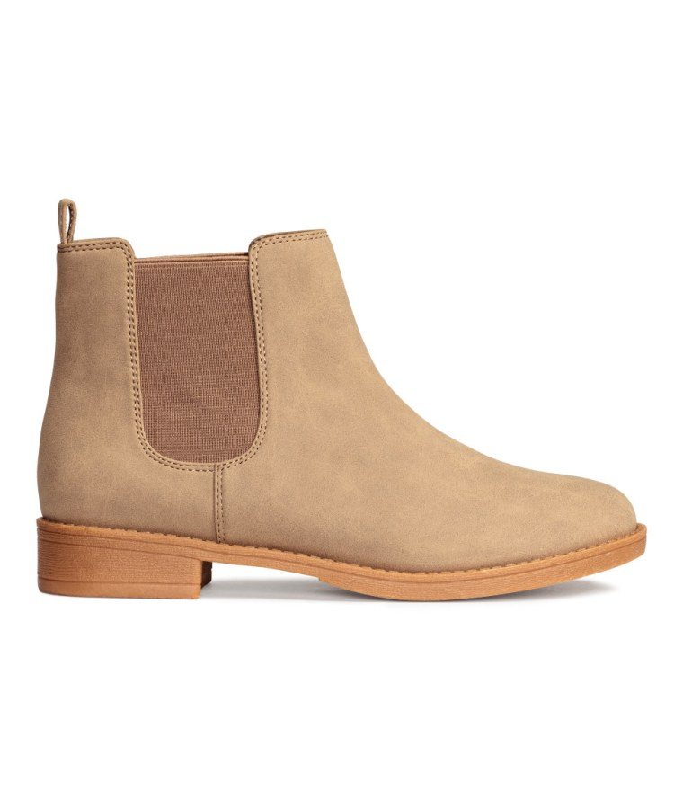 H&M suede Chelsea boots