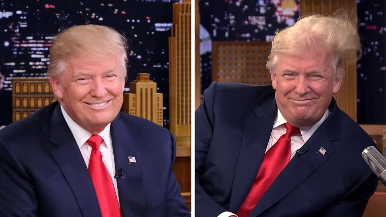 Donald Trump on Jimmy Fallon