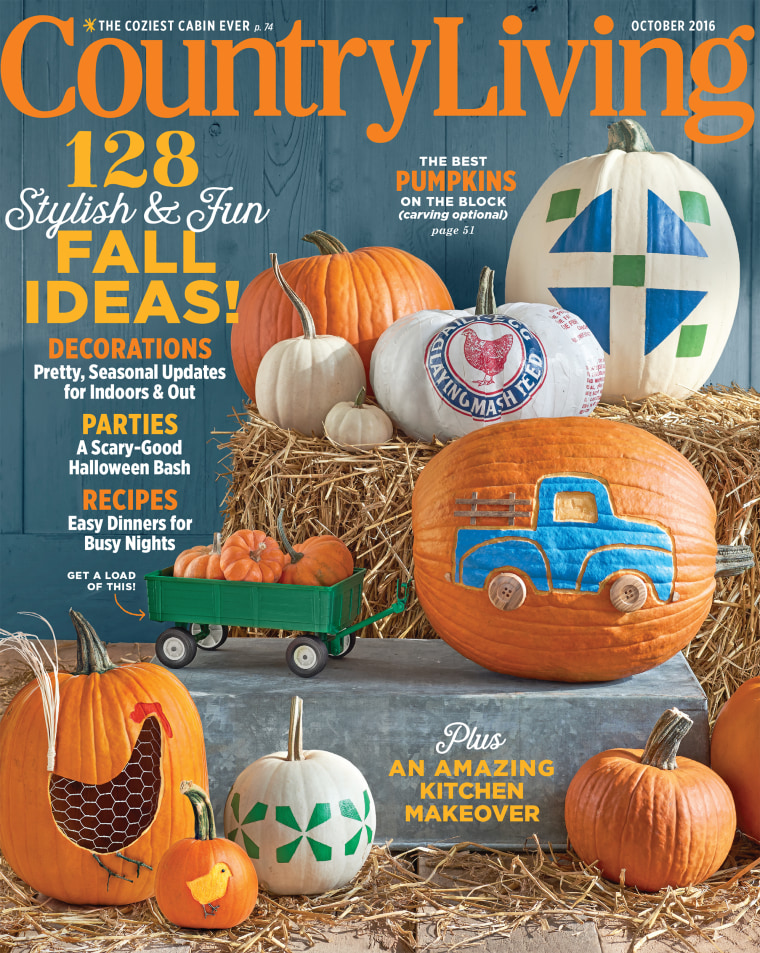 Country Living Magazine, October 2016 issue.