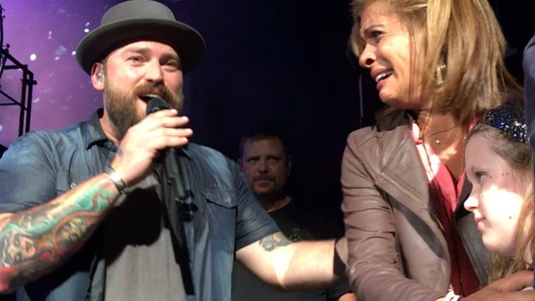 Hoda, Billy ???couldn???t stop crying??? during sweet moment at Zac Brown concert