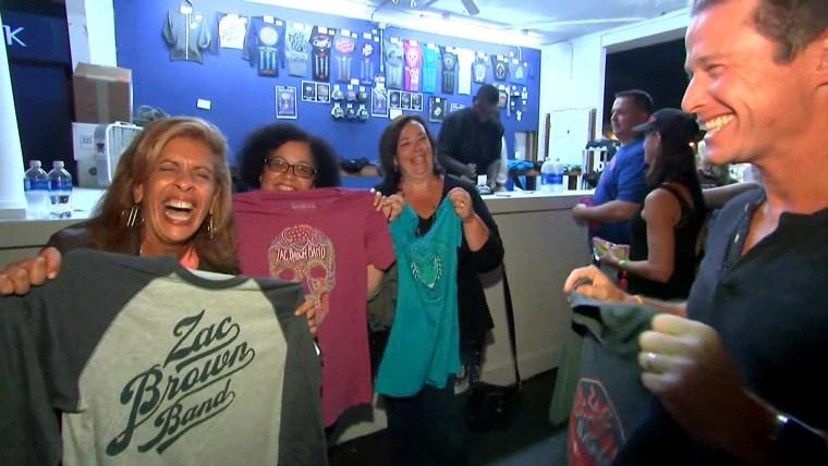 Zac Brown Band surprises moms whose kids battled cancer