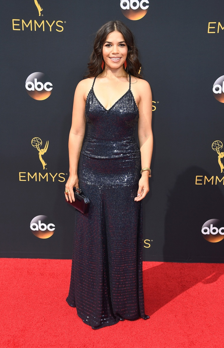America Ferrera Emmy Awards 2016 red carpet