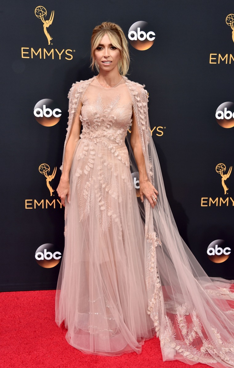 Giuliana Rancic Emmys 2016 red carpet