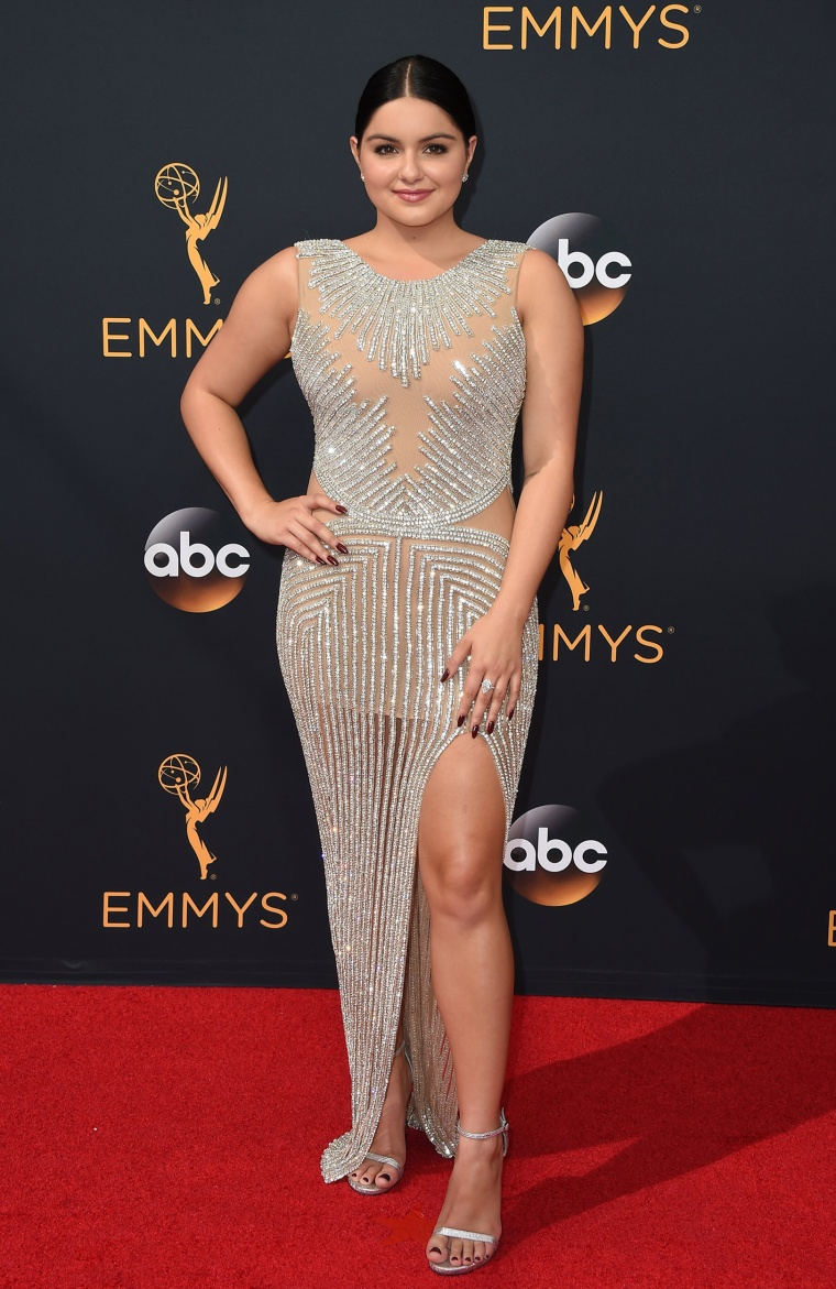 Ariel Winter Emmy Awards red carpet 2016