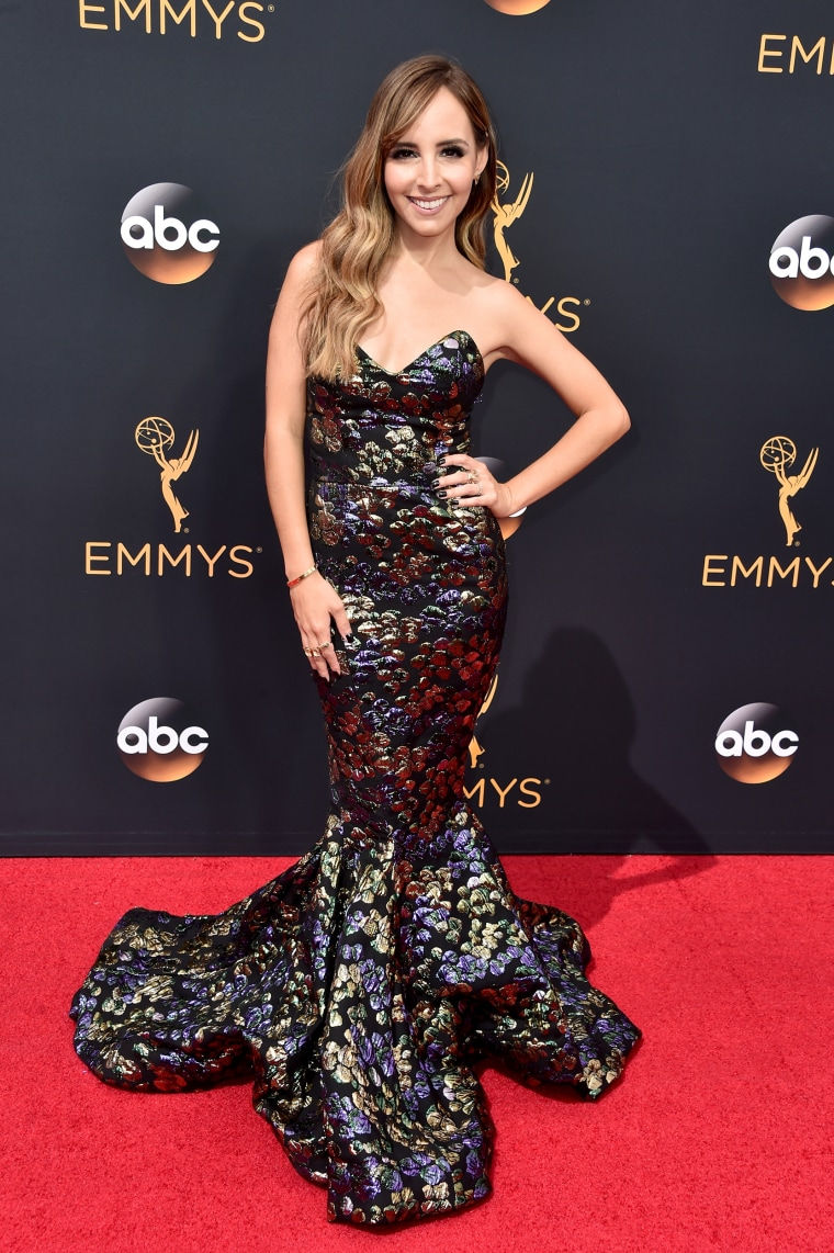 Lilliana Vazquez Emmys red carpet 2016