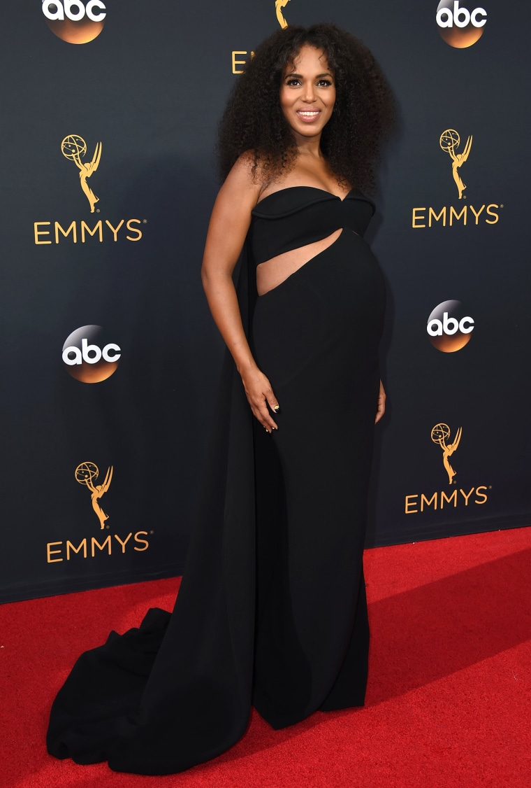 Kerry Washington Emmys red carpet 2016