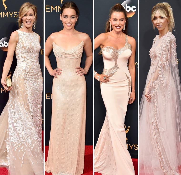 Emmys 2016 red carpet trends: Blush
