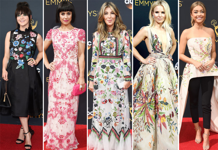 Emmys 2016 red carpet trends: Florals