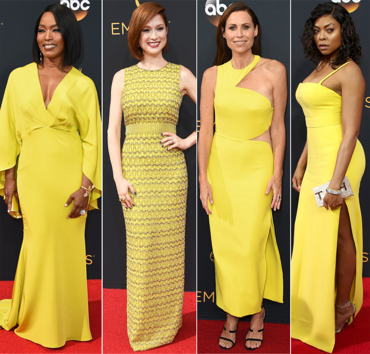 Emmys 2016 red carpet trends: Yellow gowns