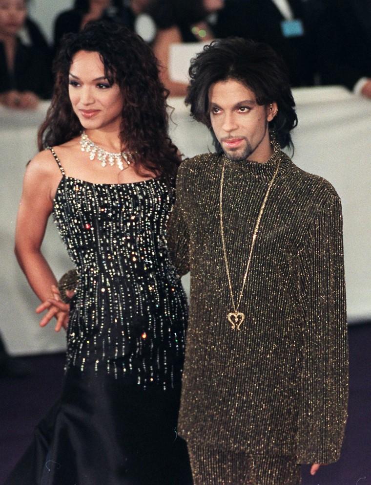 Image: Prince and Mayte Garcia