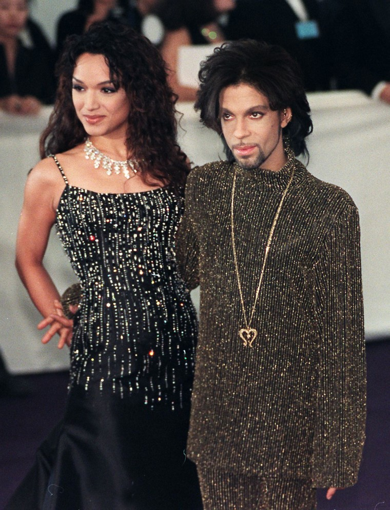 Image: Prince and Mayte Garcia