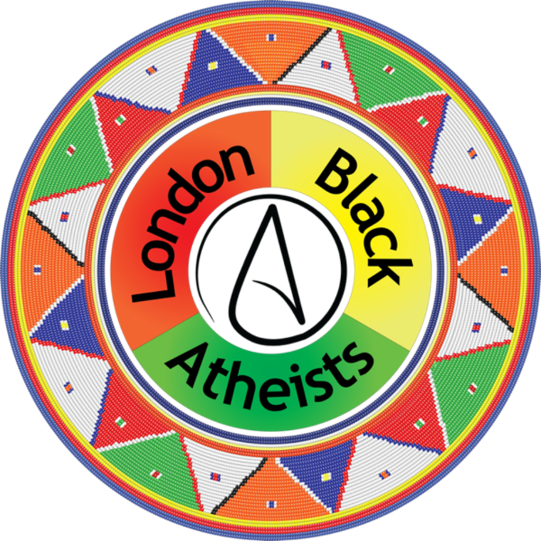 London Black Atheists logo