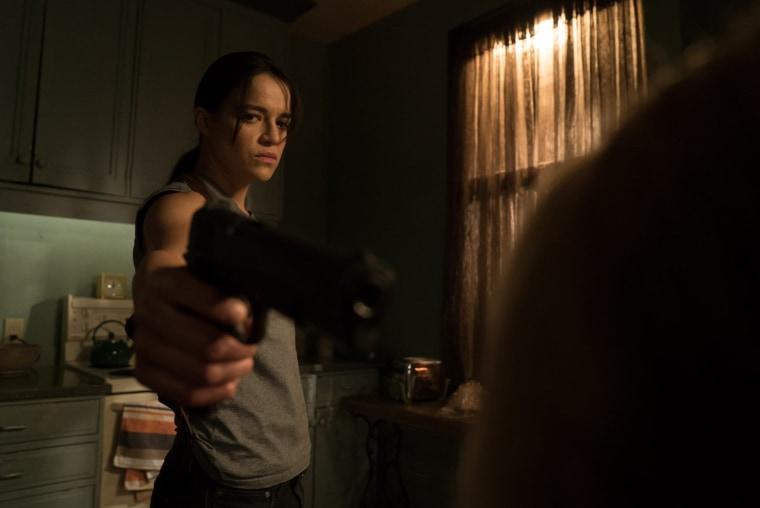 "Michelle Rodriguez in thriller ""(Re)Assignment."""