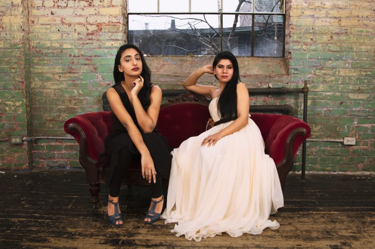 Rakhi Mutta's (right) idea for a show about the dating life of South Asian women in Canada came to life when she met Kiran Rai (left) and saw her as the lead character.