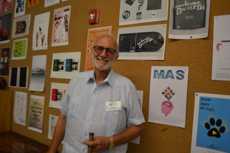Alan Gross at the Cuba Internet Freedom Conference in Miami.