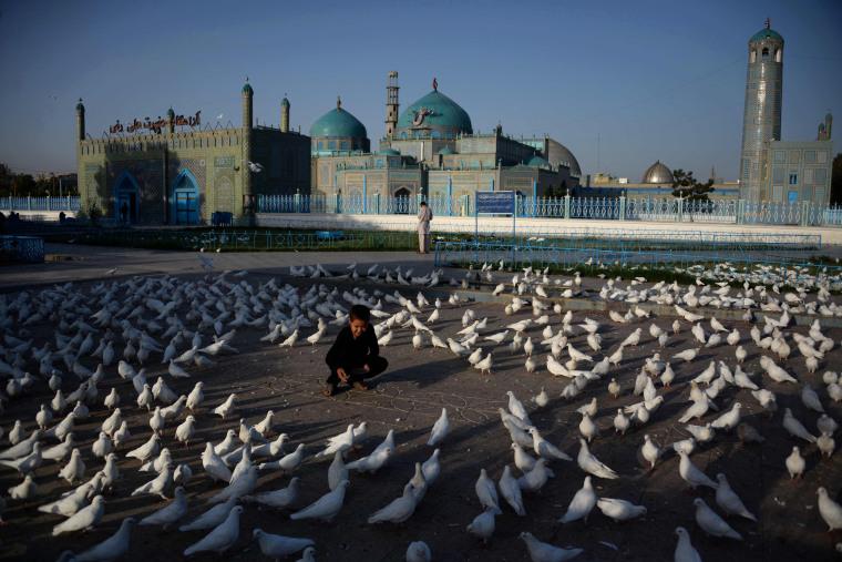 Image: TOPSHOT-AFGHANISTAN-RELIGION-MUSLIM-EID
