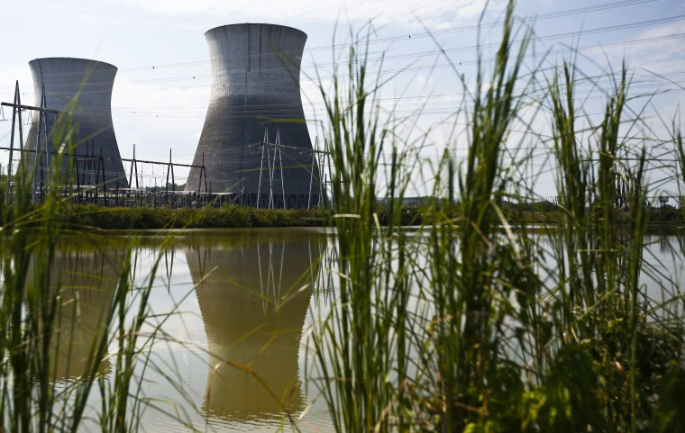 Image: Cooling towers at the Bellefonte Nuclear Plant