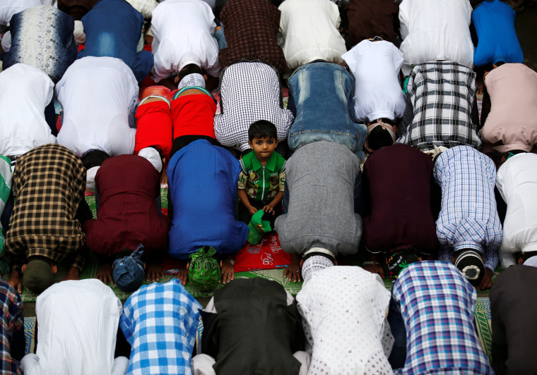 Image: Muslims around the world celebrate the annual festival of Eid al-Adha