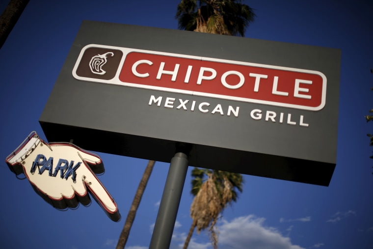 Image: A Chipotle Mexican Grill is seen in Los Angeles