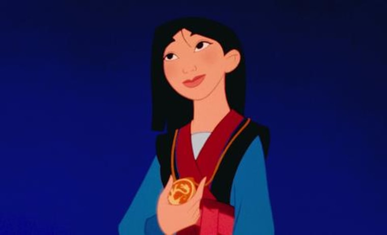 Mulan is currently Disney's only Princess from East Asia.
