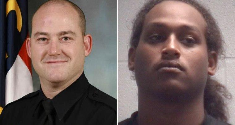 Officer Tim Brackeen and his alleged killer Irving Fenner.
