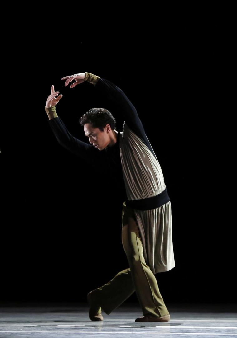"""Jeffrey Cirio in """"Serenade After Plato's Symposium."""""""