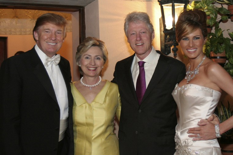 Image: Donald Trump Sr. and Melania Trump Wedding, Self Assignment, January 22, 2005