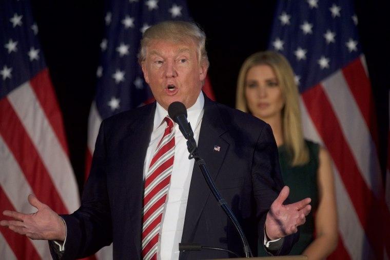 Image: Donald Trump Holds Campaign Event In Philadelphia Area