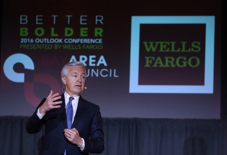 Wells Fargo CEO John Stumpf Speaks At Bay Area Council Outlook Conference