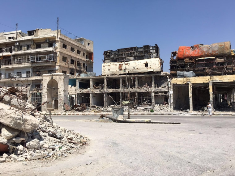 Eastern Aleppo in June.