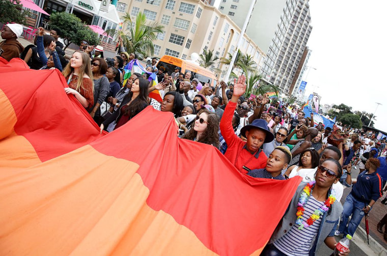 SAFRICA-LGBT-PRIDE-PARADE