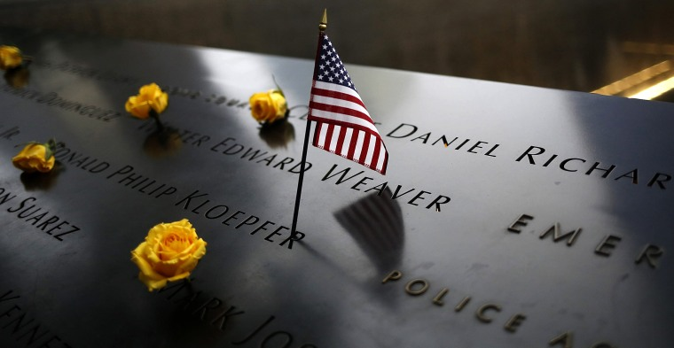 Image: 15th anniversary of 9/11 terror attacks in New York