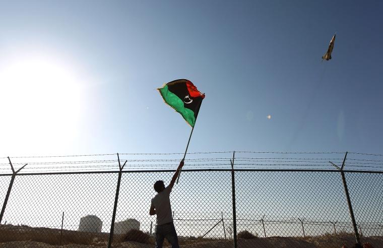 Image: LIBYA-CONFLICT-OIL