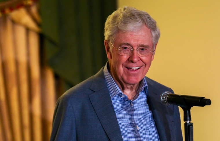 Image: Charles Koch is pictured in this undated handout photo